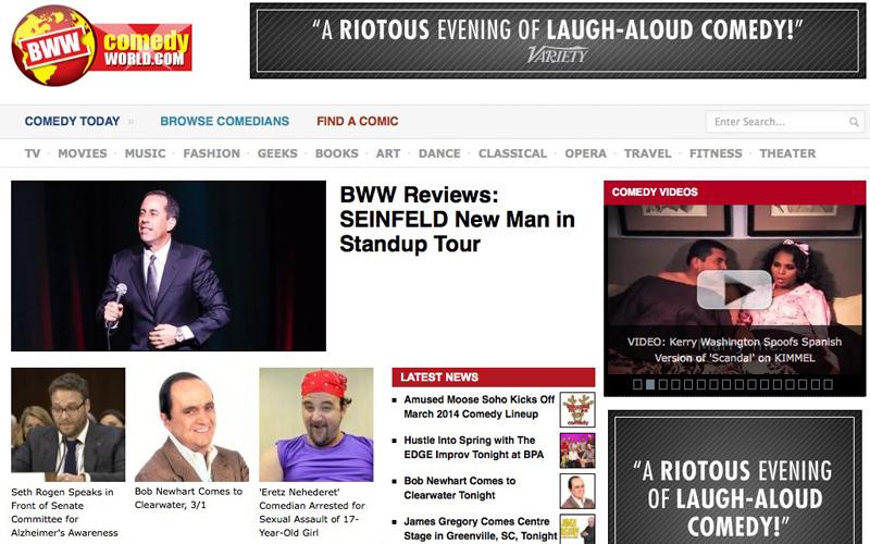 BWW Comedy World