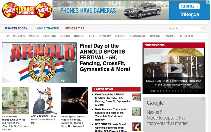 BWW Fitness World