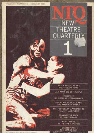 New Theatre Quarterly 12 (Part 4) by Clive Barker (Editor), Simon Trussler (Editor)