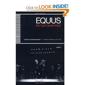 a review of shaffers play equus Equus is a play by peter shaffer written in 1973, telling the story of a psychiatrist who attempts to treat a young man who has a pathological religious fascination.
