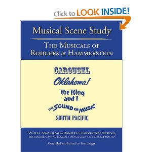 Musical Scene Study : The Musicals of Rodgers and Hammerstein by Tom Briggs (Editor), Richard Rodgers, Oscar Hammerstein II