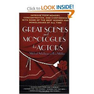 Great Scenes and Monologues for Actors by Michael Schulman, Eva Mekler