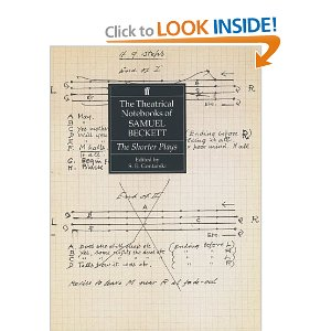 The Theatrical Notebooks of Samuel Beckett: Krapp's Last Tape v. 1 by Samuel Beckett
