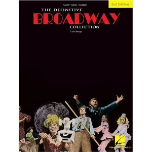 The Definitive Broadway Collection by Hal Leonard Corp