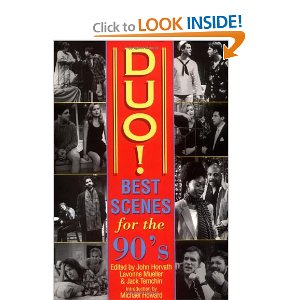Duo! Best Scenes for the 90s by Jack Temchin, Lavonne Mueller, John Horvath