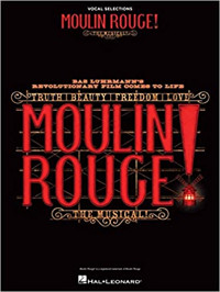 Moulin Rouge! songbook Cover