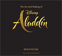 The Art and Making of Aladdin Cover