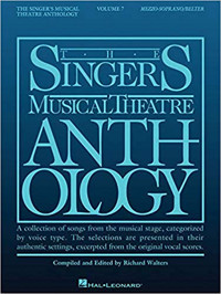 Singer's Musical Theatre Anthology - Volume 7: Mezzo-Soprano/Belter Book Only Cover