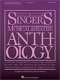 Singer's Musical Theatre Anthology - Volume 7: Soprano Book Cover
