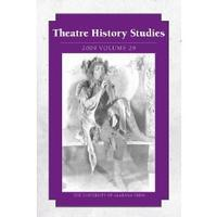 Theatre History Studies 2009: Volume 29