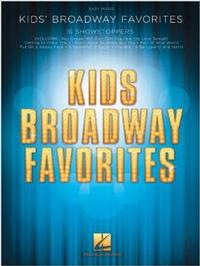 Kids' Broadway Favorites Easy Piano Cover