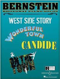 Bernstein Broadway Piano Solos: Intermediate Level Piano Solos Cover