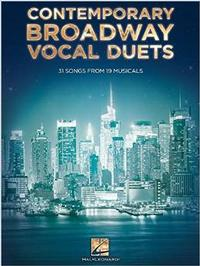 Contemporary Broadway Vocal Duets: 31 Songs from 19 Musicals Cover
