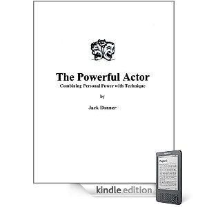 The Powerful Actor by Jack Donner