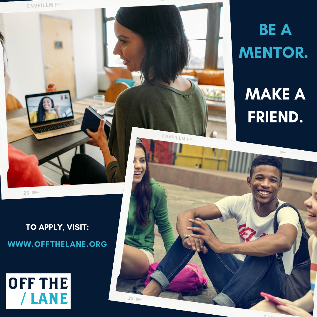 Off The Lane Mentorship Program - MENTOR for Arts & Entertainment Mentorship Program