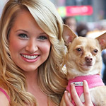 Photo Coverage: Legally Blonde's Bailey Hanks and 'Bruiser' Meet the Press