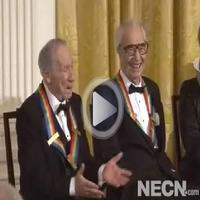STAGE TUBE: President Obama Talks About Mel Brooks' Kennedy Center Honor