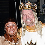 Photo Coverage: Stephen Collins and Drew Lachey Join Spamalot