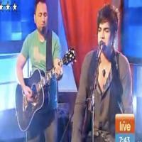 STAGE TUBE: Adam Lambert on Australia's 'Sunrise Morning Show'
