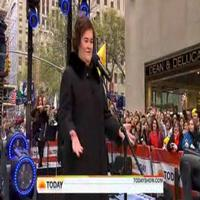 STAGE TUBE: Susan Boyle Sings 'Cry Me a River' on NBC's Today Show