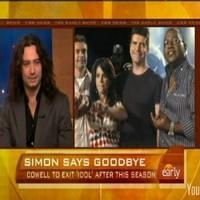 STAGE TUBE: Constantine Maroulis Reacts to Cowell's 'Idol' Departure