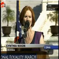 BWW TV: Stage Tube - Cynthia Nixon Speaks at National Equality March