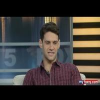 STAGE TUBE: Justin Bartha Visits Good Day New York