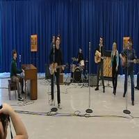 STAGE TUBE: MILLION DOLLAR QUARTET Cast In Rehearsal