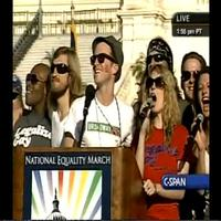 BWW TV: Stage Tube - HAIR Cast Performs at National Equality Rally