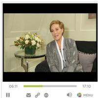 STAGE TUBE: Julie Andrews Discusses Her Comeback