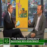 STAGE TUBE: Kevin Spacey Chats 'THE NORMAN CONQUESTS' on NBC's Today Show