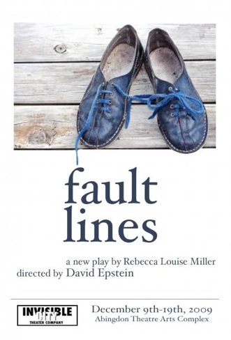 Invisible Theatre Presents Final Performance of FAULT LINES at The Dorothy Strelsin Theatre, 12/19
