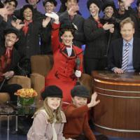 Photo Flash: Cast of MARY POPPINS Visits The Tonight Show Conan O'Brien