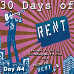 30 Days of RENT on BroadwayWorld.com: Day 4