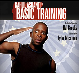 Kahlil Ashanti of BASIC TRAINING: Laughter in Service