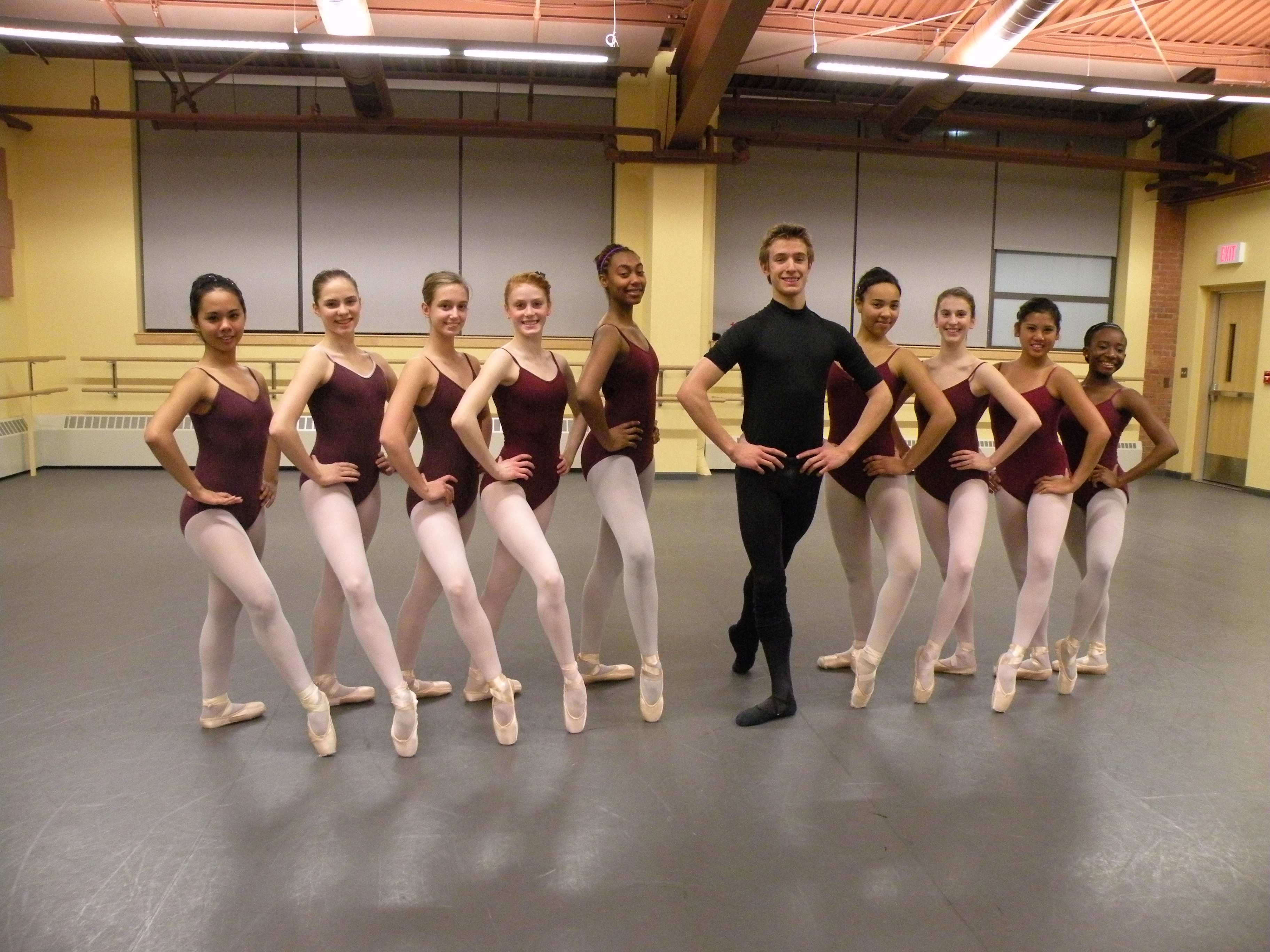 Hartt School Students Take Part In National High School Dance Festival