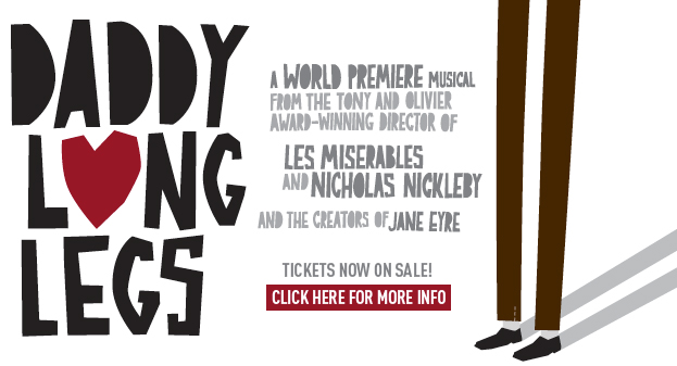 John Caird's DADDY LONG LEGS Gets TheatreWorks Run, 1/23 - 2/14