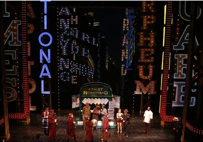 Photo Flash: Guys & Dolls in Previews; Opens at Nederlander Theatre on Broadway Sunday Night, March 1