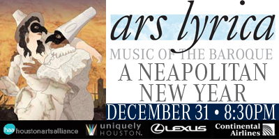 Ars Lyrica Houston Plays New Years Performance At The Hobby Center