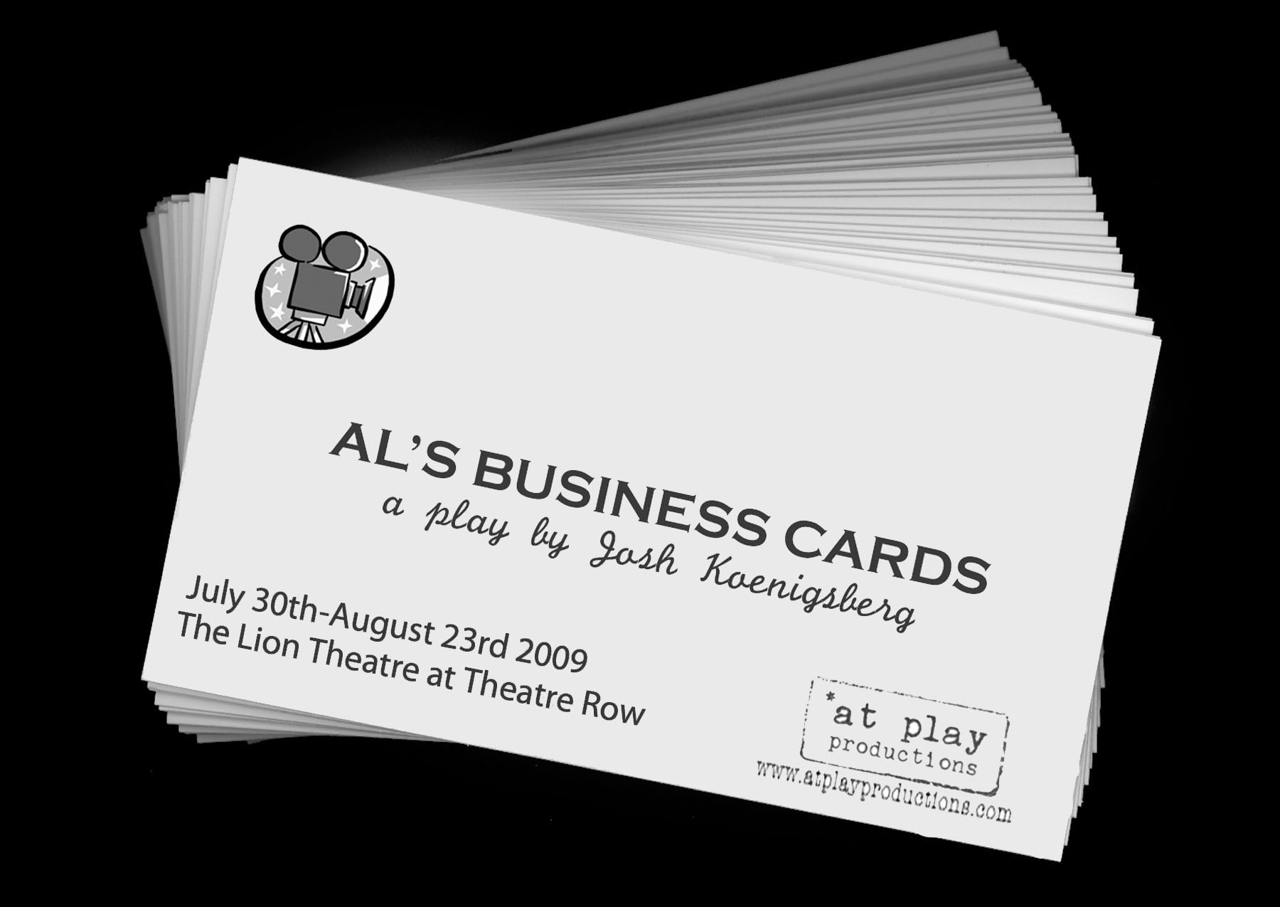 AL S BUSINESS CARDS Gets World Premiere This Summer At Lion