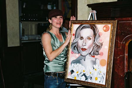 Photo Coverage: Christina Applegate Portrait Unveiled on Broadway Wall of Fame