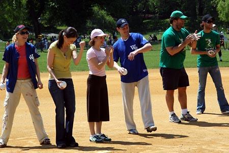 Photo Coverage: Broadway Softball League