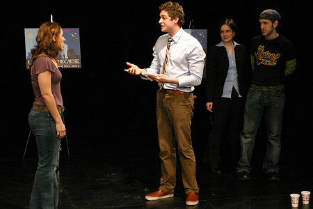 Photo Coverage: Stephanie D'Abruzzo and Co. Rehearse I Love You Because