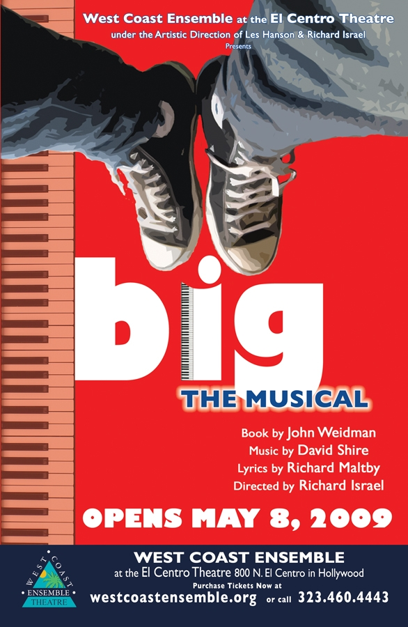 West Coast Ensemble's BIG: The Musical Extends Through 7/26 At El Centro Theatre