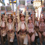 Photo Coverage: 'A Chorus Line' is The One in Times Square