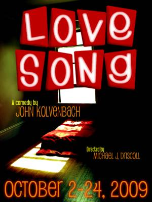 Alliance Repertory Opens It's 11th Season On 10/2 With John Kolvenbach's Offbeat Comedy LOVE SONG