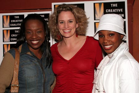 Photo Coverage: The Creative Coalition Visits The Color Purple