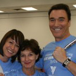 Photo Flash: Patrick Page and Paige Davis Volunteer at Operation Backpack