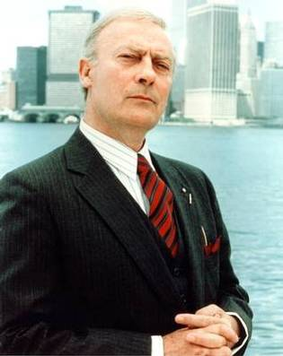 Memorial Set For Actor Edward Woodward at The Theatre Royal Haymarket 3/25