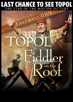 FIDDLER ON THE ROOF Comes To San Diego Civic Theatre 7/14-19